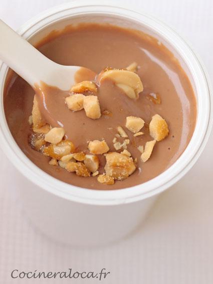 Petites Crèmes Au Chocolat Au Lait Et Aux Cacahuètes La Cocinera Loca
